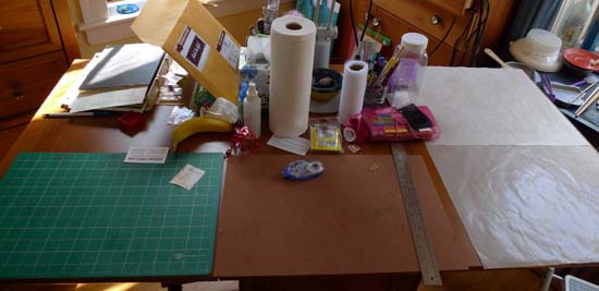craft table view