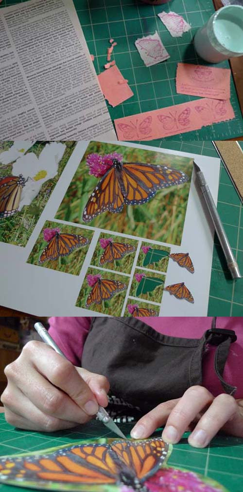 Migrating Monarchs by Maike's Marvels collage