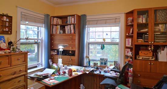 home-based craft studio