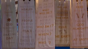banners at Alice Millar Chapel