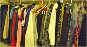 my fun closet to play dress-up with