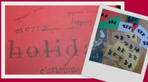 holiday cards by Maike's Marvels