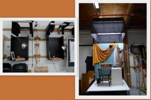 light systems at Vitruvian Art Schoo