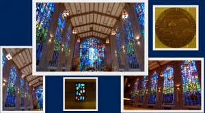 Alice Millar Chapel Stained Glass Windows