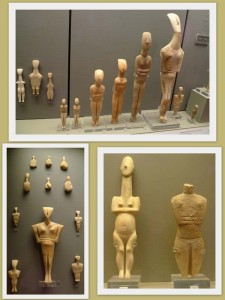 Cycladic Goddesses in Athens