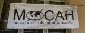The Museum of Cultural Arts Houston sign