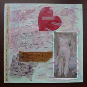 Pact with self mixed media collage by Maike's Marvels