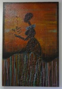Acrylic Painting displayed at MOCAH