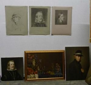 Brett Edenton's paintings and drawings