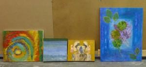 Rhonda Goldstein collages