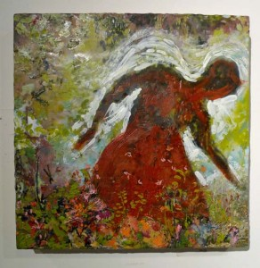 Gardening Angel by Dawn Korman