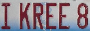 creative license plate