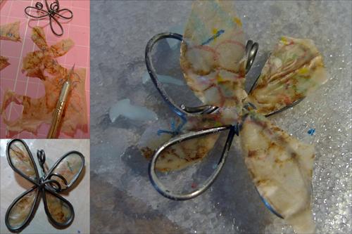 Flower pendant by Maike's Marvels, Maike's Maraviglia