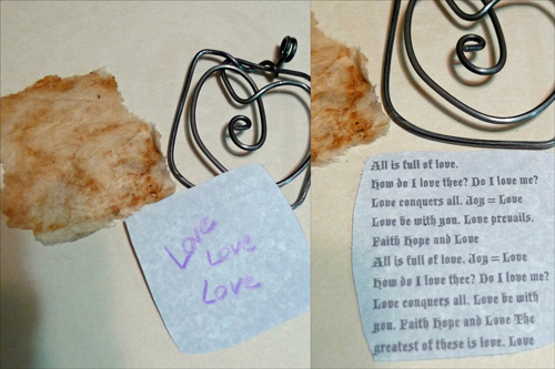 Love pendant by Maike's Marvels