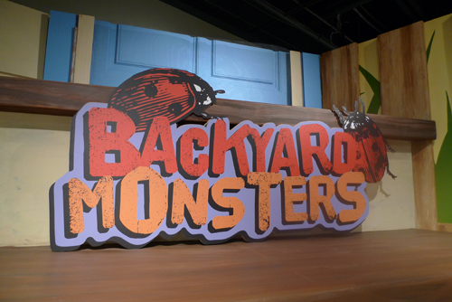 backyard monsters at Peggy Notebaert Nature Museum