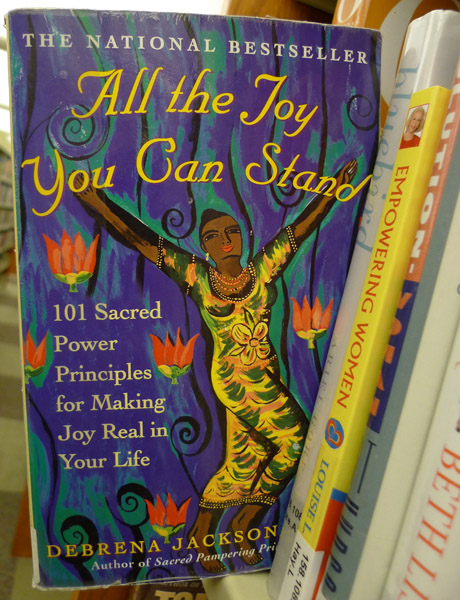 Joy at the Evanston Public Library