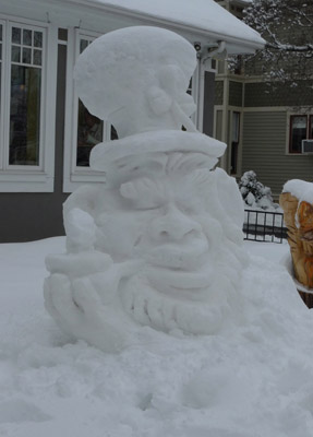 Snow Sculpture by Joseph
