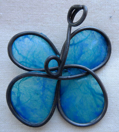Menocopsis pendant by Maike's Marvels