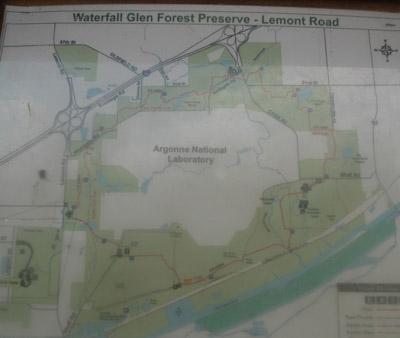 WaterfallGlenmap