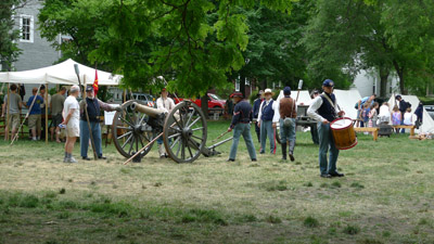 Civil war cannon Custer Fair