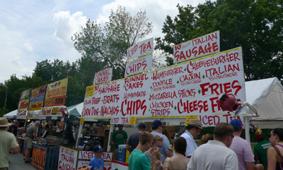 Custer Street Fair Food