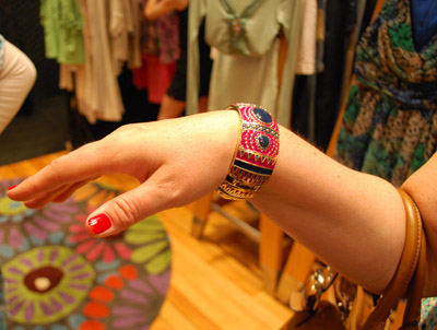 Bracelet purchased at the Swap Shop - photo by www.NetworkHoncho.com