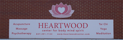 Heartwood Sign