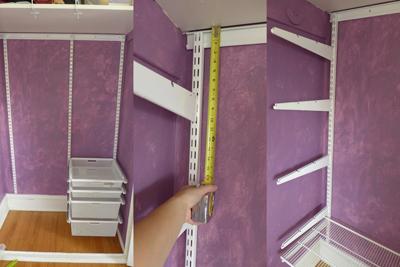 purpleclosetshelfhanging
