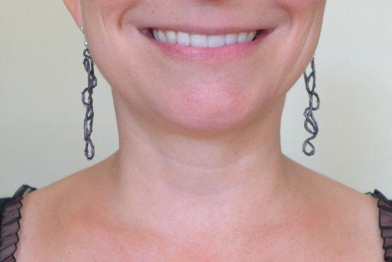 Wire Earrings by Maike's Marvels