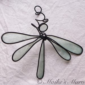 Green Dragonfly by Maike's Marvels