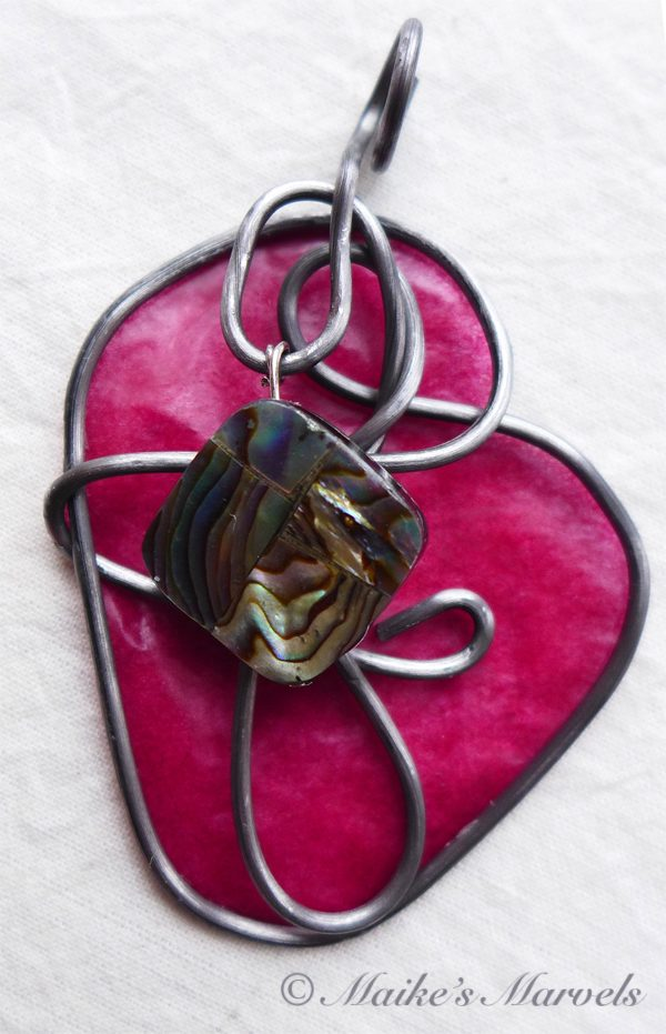 Abalone Pendant by Maike's Marvels