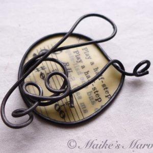 Musical Pendant by Maike's Marvels