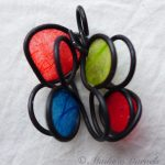 Vibrant Ornament by Maike's Marvels