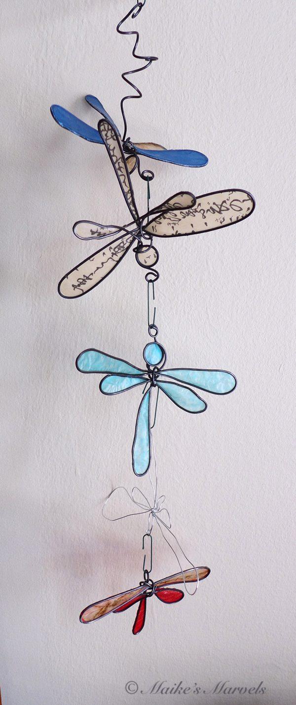 Maike's Marvels Dragonfly Ornament Mobile