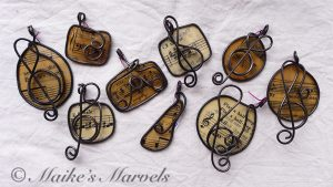 Musical Pendants by Maike's Marvels