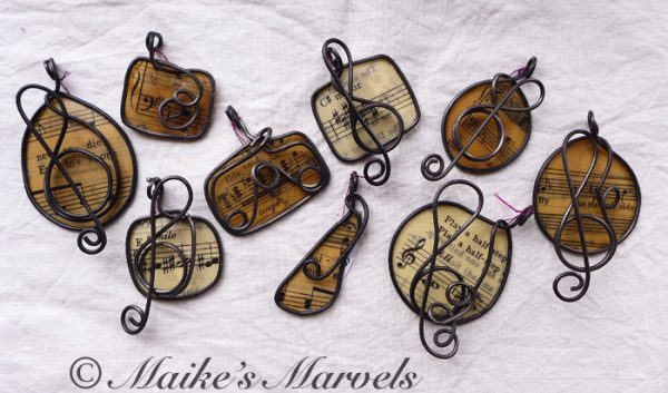 Musical Jewelry by Maike's Marvels