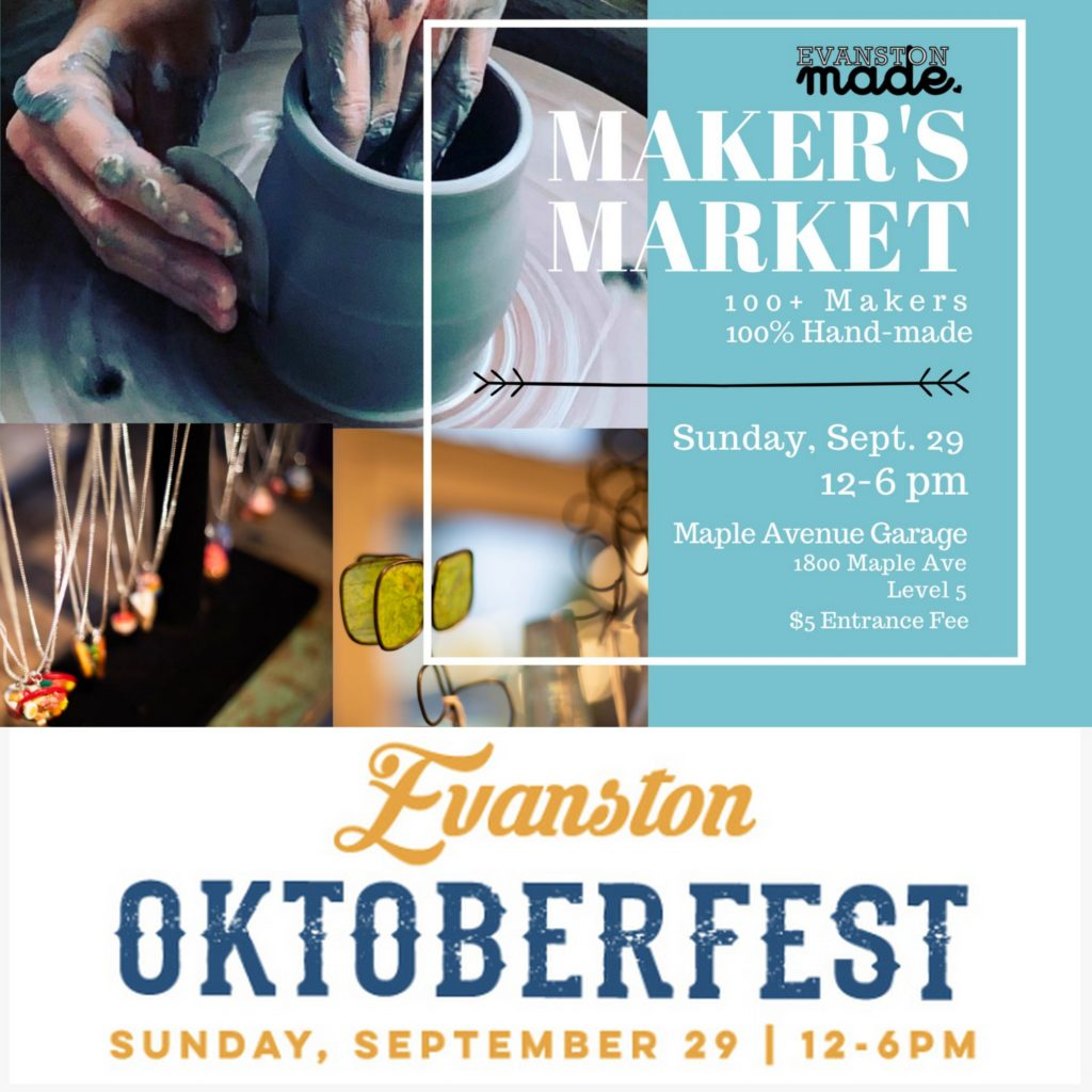 Evanston Made Makers Market card