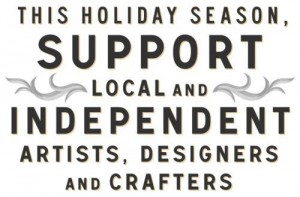 support local artists sign