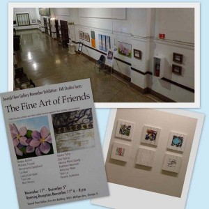 Second Floor Gallery at Chicago's Fine Arts Building