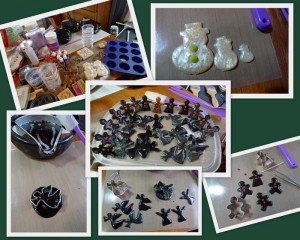 UTEE figurines for Christmas by Maike's Marvels