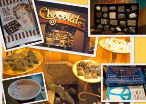 chocolate exhibit at Chicago's Field Museum