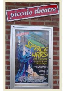 Piccolo Theatre Space Wars Poster