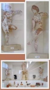 Delos statuettes of women