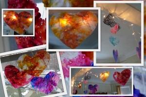 Translucent Hearts of Wax