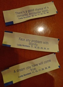 fortunes from Pei Wei