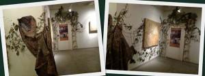 hallway on 3rd floor of Zhou B Art Center
