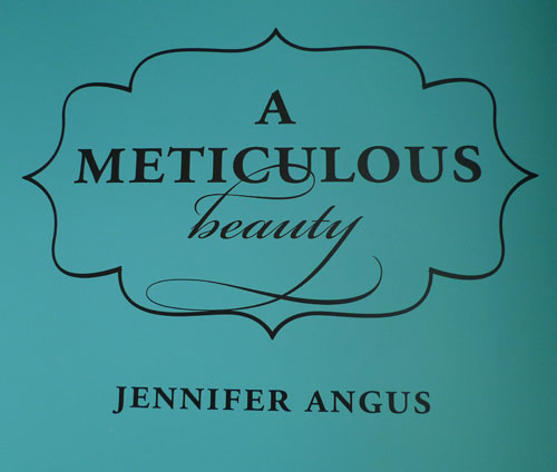 Meticulous Beauty by Jennifer Angus