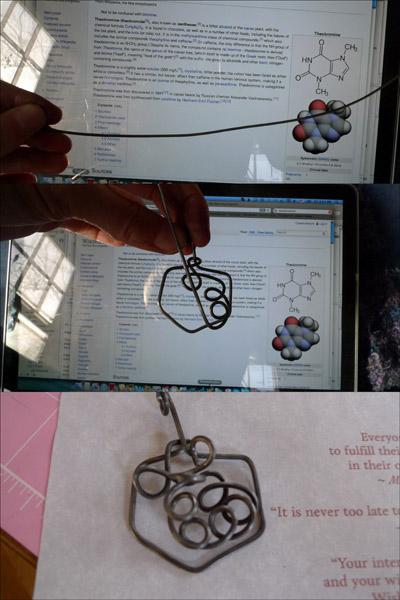 Theobromine for the Princess Chocolatier pendant