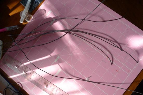 Sunning wire