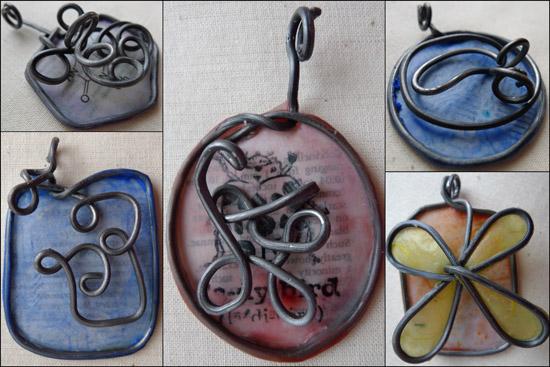 Princess Scientist pendants by Maike's Marvels